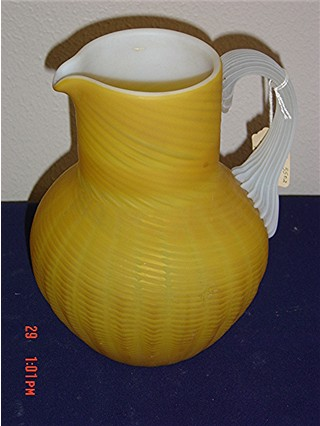 Butterscotch pitcher